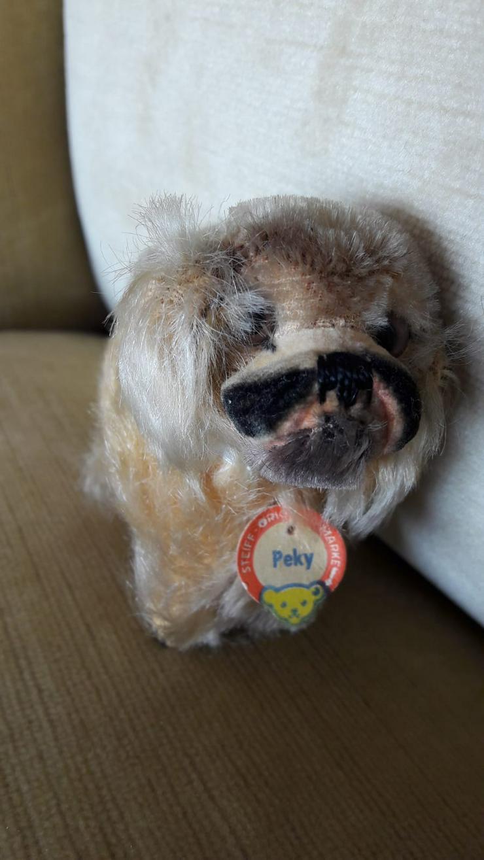 Steiff-Tier Hund Peky