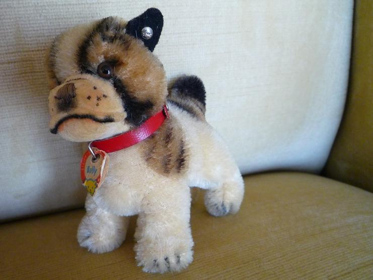 Steiff-Tier Hund Bully