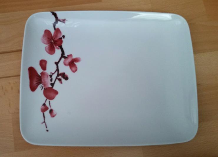 Teller / Platte, Maße ca. 26 x 29 cm, neu