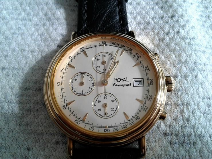 Bild 2: Royal Herrenchronograph