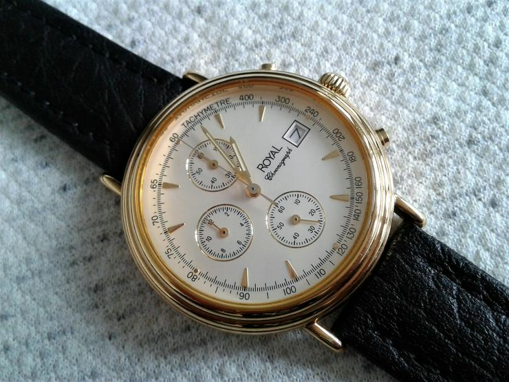 Royal Herrenchronograph - Herren Armbanduhren - Bild 1