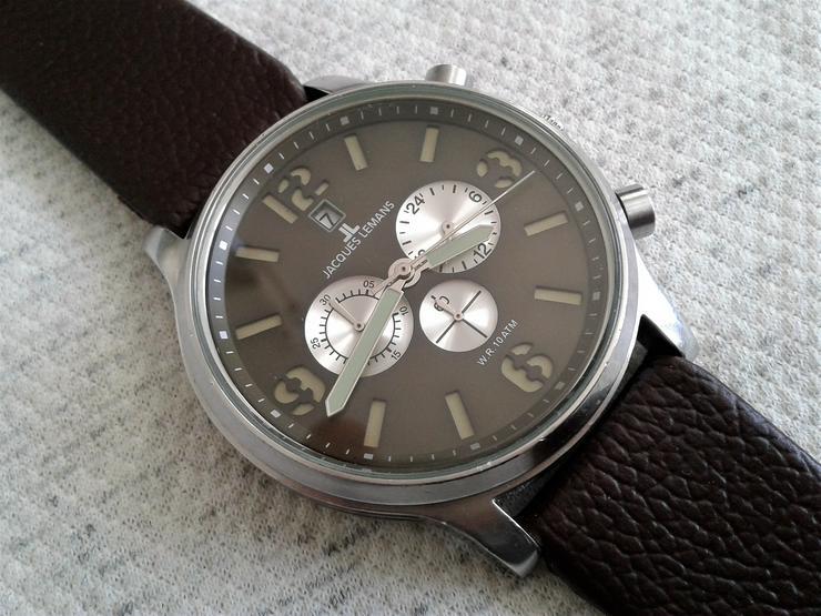 Jacques Lemans Herrenchronograph XL