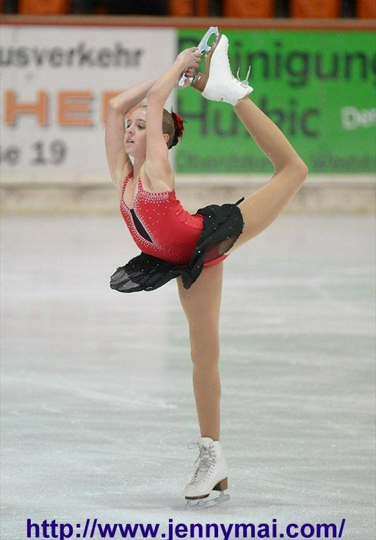 Tanz- & Kürkleider für Eiskunstlauf, Rollschuhlauf, Eistanz, RSG - Schlittschuhe - Bild 1