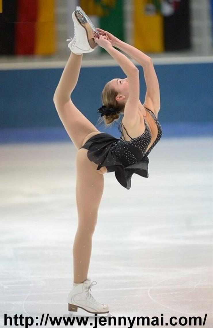 Bild 5: Tanz- & Kürkleider für Eiskunstlauf, Rollschuhlauf, Eistanz, RSG