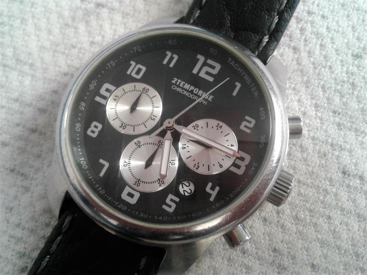 TCM 2Temporise Herrenchronograph