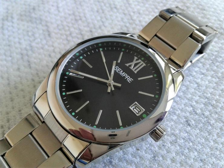 Sempre Herrenuhr neu ungetragen - Herren Armbanduhren - Bild 5