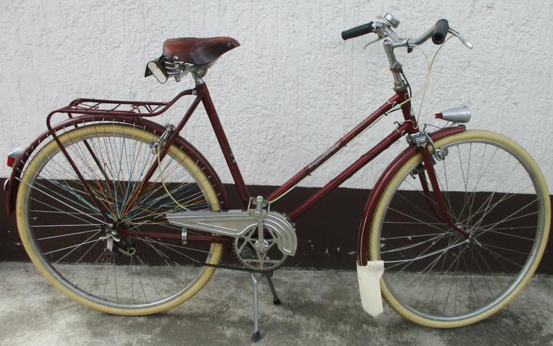 Damenfahrrad Oldtimerfahrr Drewer mit Gangschaltungl Versand möglich - Citybikes, Hollandräder & Cruiser - Bild 1