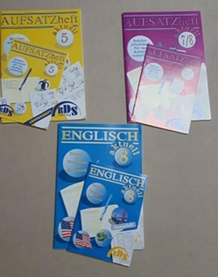BDS Verlag, Realschule Aufsatzheft & Lösung 5. und 7/8 Klasse, Englisch 8. Klasse, Bayern - Schule - Bild 1