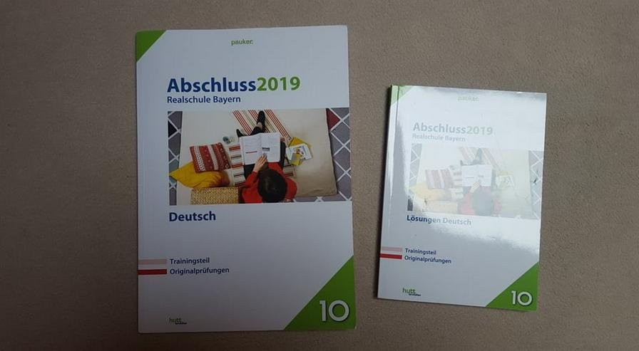"""""""HUTT LERNHILFEN"""", DEUTSCH ABSCHLUSS 2019 Realschule Bayern - Schule - Bild 1"""