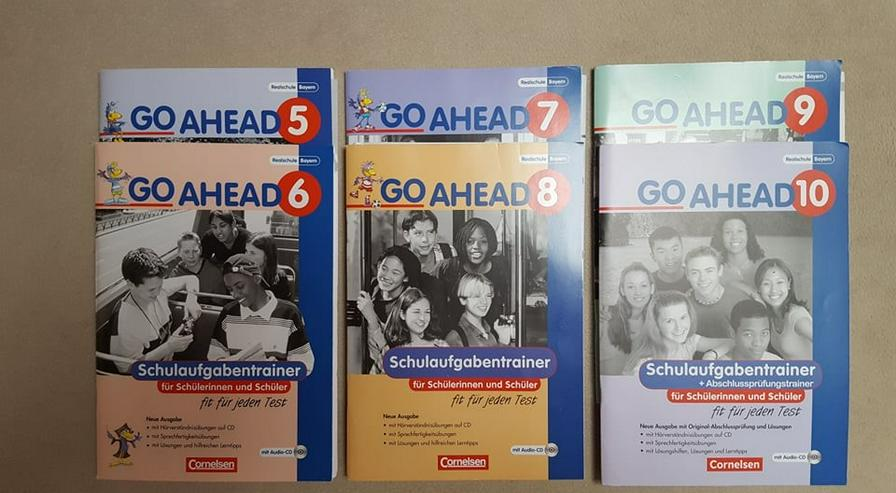 """CORNELSEN"" GO AHEAD 5. bis 10. Klasse Realschule, Schulaufgabentrainer + Abschlusstrainer Englisch"