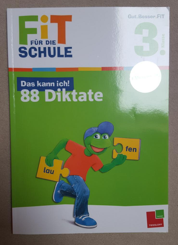 """""""TESSLOFF"""", FIT f. d. SCHULE, 3. Klasse, 88 Diktate"""