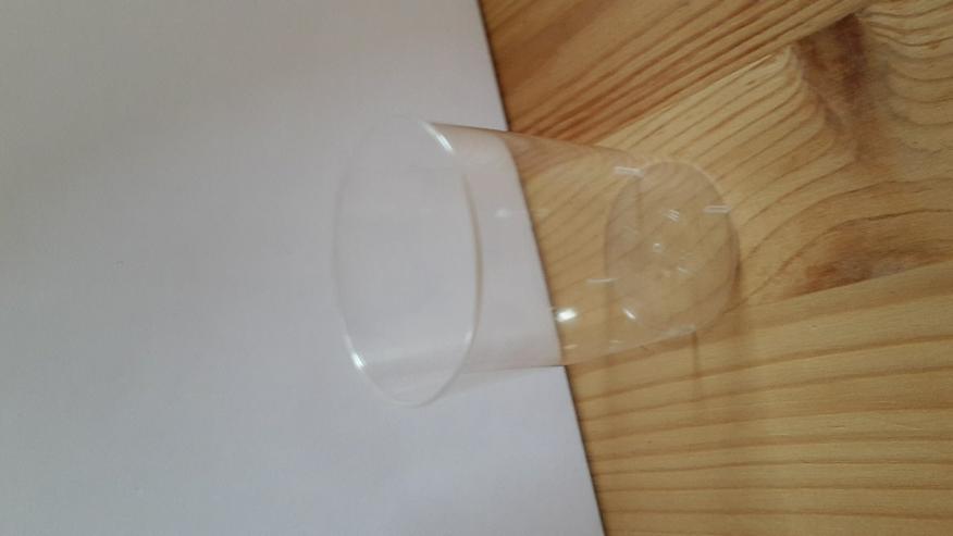 Bild 2: Schnapsglas Plastik glasklar 6x 45 Stück - OVP