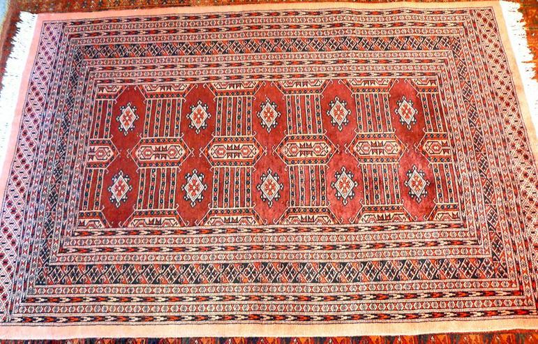 Orientteppich Kaschmir sehr fein 191x129 (T049)