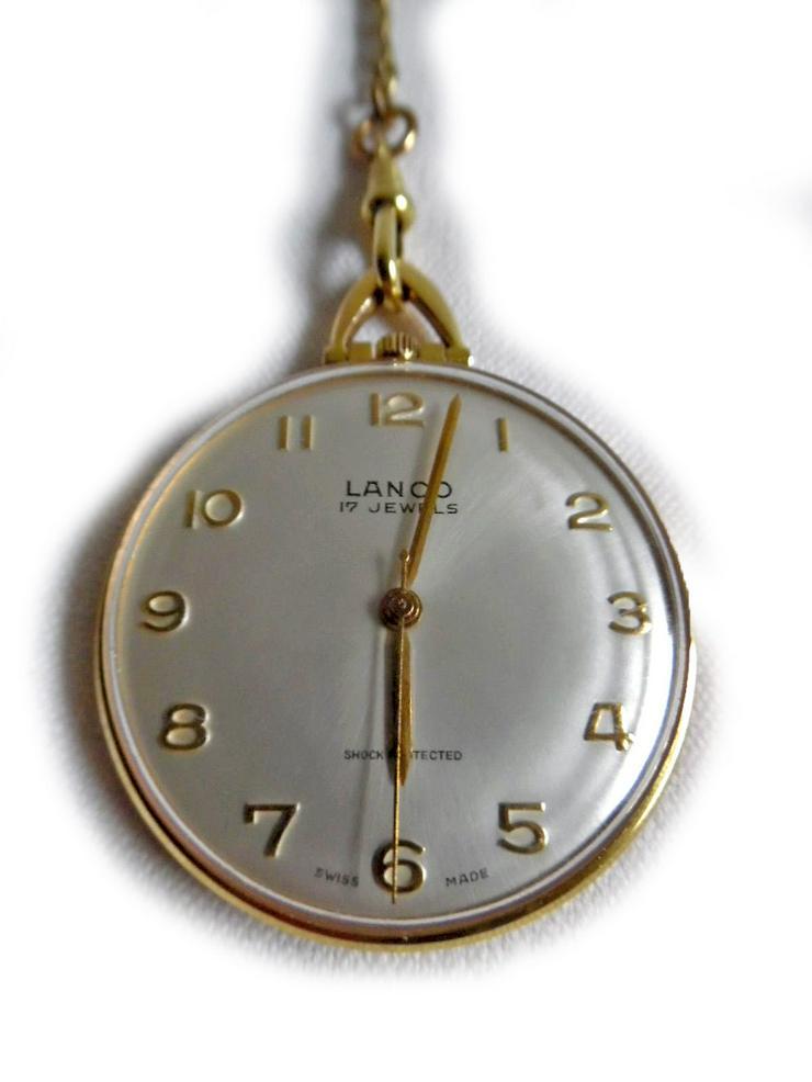 Bild 2: Schöne Taschenuhr von Lanco