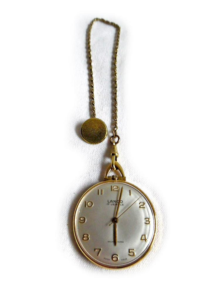 Schöne Taschenuhr von Lanco - Taschenuhren - Bild 1