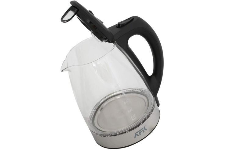 Bild 3: Wasserkocher Glas mit LED Design-Wasserkocher NEU