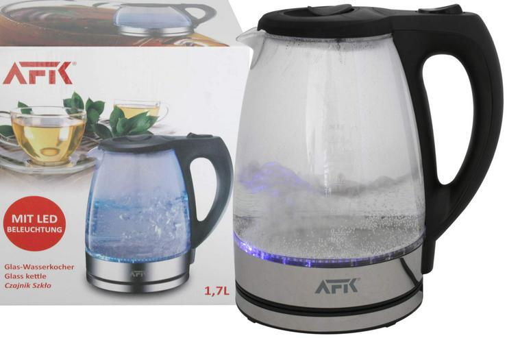 Bild 4: Wasserkocher Glas mit LED Design-Wasserkocher NEU