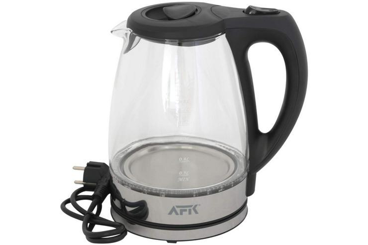 Wasserkocher Glas mit LED Design-Wasserkocher NEU