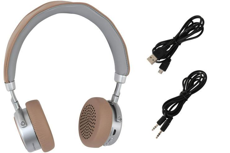 Kopfhörer Bügelkopfhörer Headset Bluetooth kabellos mit Mikrofon - Kopfhörer - Bild 1