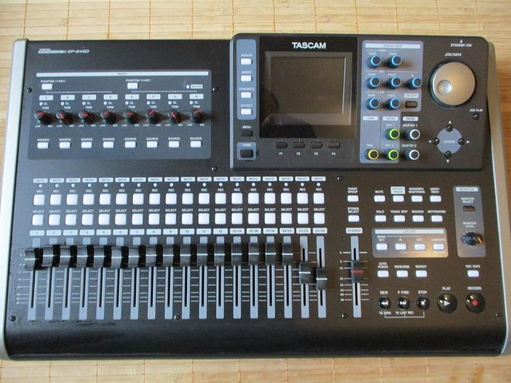 Digitales 24 Spur Studio Tascam DP-24 SD - DJ-Technik & PA - Bild 1