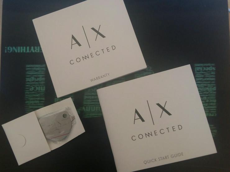 Bild 3: Neue Armani Exchange Hybrid-Smartwatch AXT1006