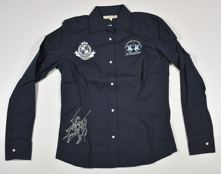 La Martina Damen Hemd Shirt Gr.XL Hemden Blusen Shirts 15-1216
