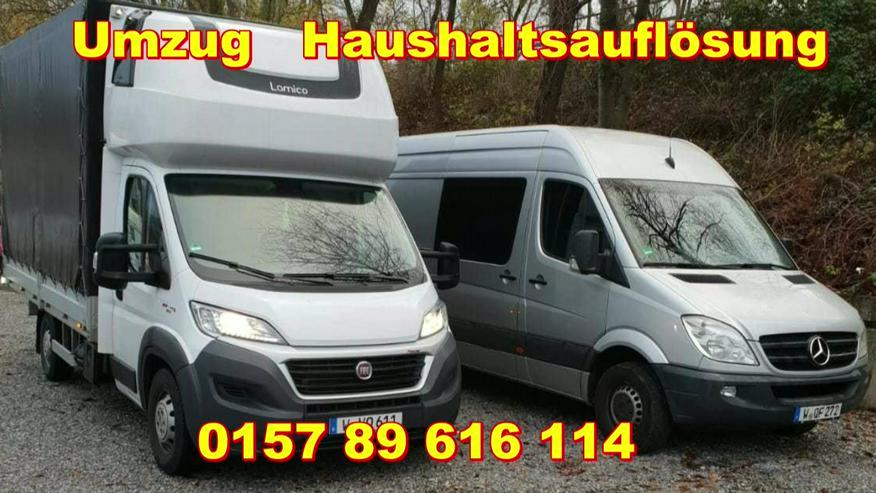 Haushaltsauflösung Transport Umzug Möbel Taxi Wuppertal Senioren - Umzug & Transporte - Bild 1