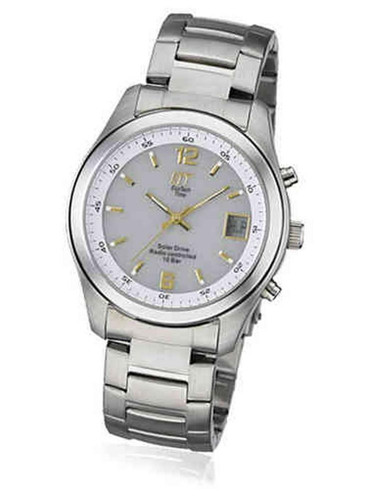 ETT Solar Funkuhr  - Herren Armbanduhren - Bild 1