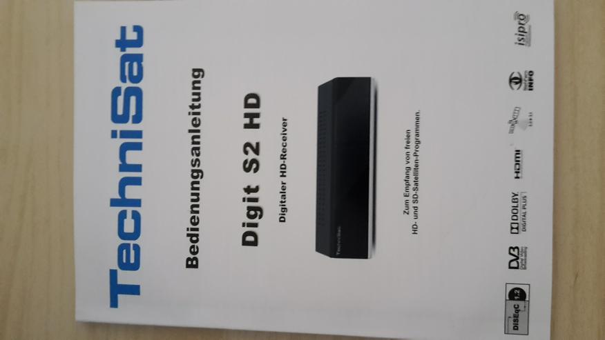 Bild 5: SAT-Receiver TechniSat Digit S2 HD Kompakt-schwarz-Knallerpreis!!!!!!!!!!!!