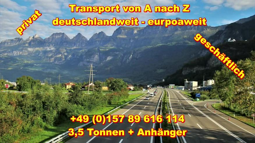 Transport Umzugsunternehmen Wuppertal UMTL deutschlandweit europaweit - Umzug & Transporte - Bild 1