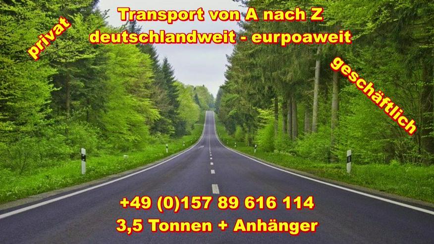 Bild 6: Transport Umzugsunternehmen Wuppertal UMTL deutschlandweit europaweit