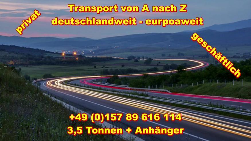 Bild 3: Transport Umzugsunternehmen Wuppertal UMTL deutschlandweit europaweit