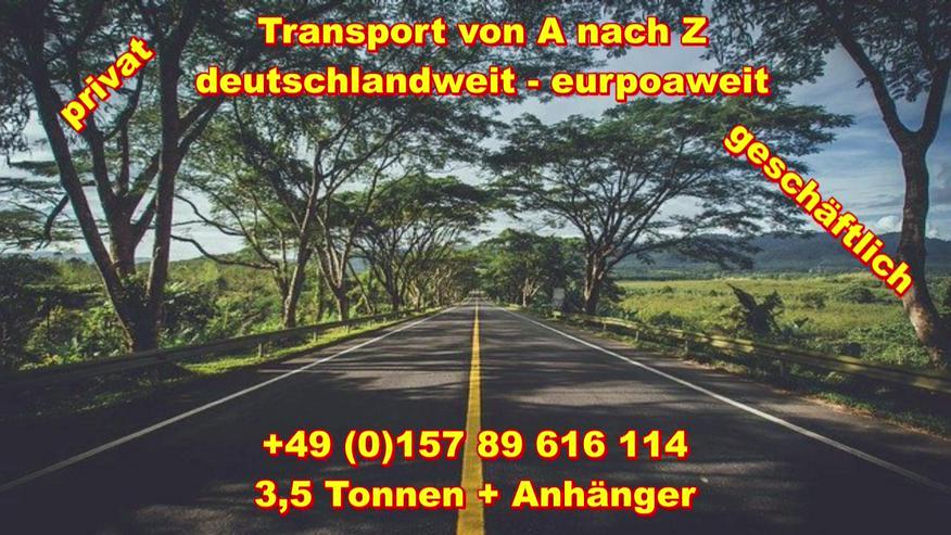 Bild 5: Transport Umzugsunternehmen Wuppertal UMTL deutschlandweit europaweit