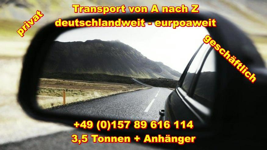 Bild 4: Transport Umzugsunternehmen Wuppertal UMTL deutschlandweit europaweit
