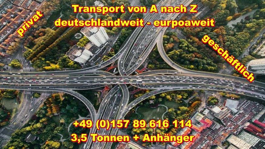 Bild 2: Transport Umzugsunternehmen Wuppertal UMTL deutschlandweit europaweit