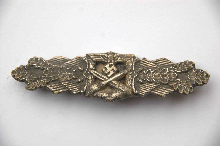 Nahkampfspange im Bronze aus Wk2, Friedrich Linden Lüdenscheid - Weitere - Bild 1