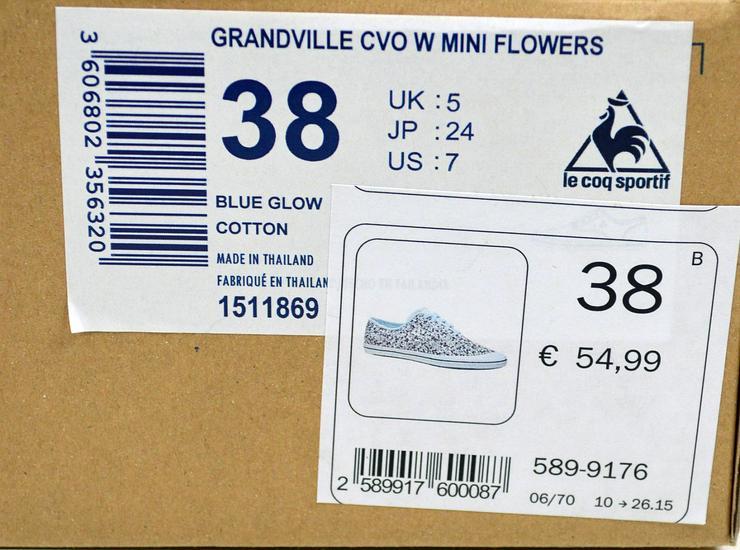 Bild 8: Le Coq Sportif Grandville Damen Sneaker Damenschuhe 45011720