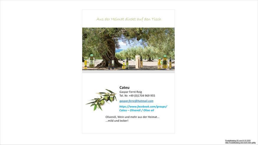 Olivenöl aus der Heimat