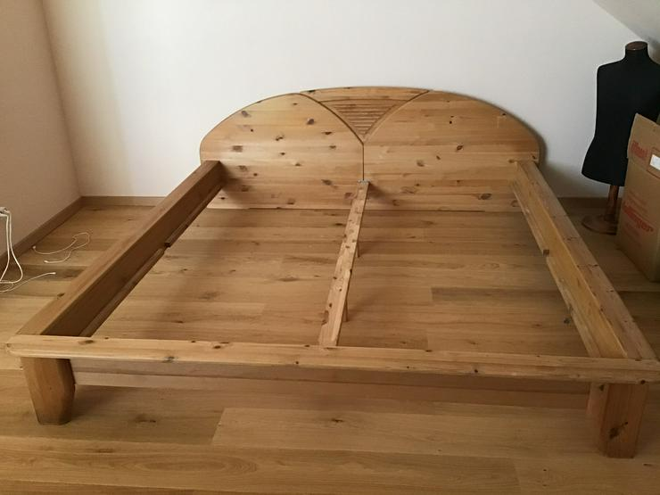 Doppelbett 180 x 200; Massivholz