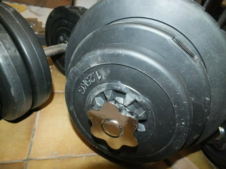 Bild 3: HANTELBANK Maschine Oberschenkel Training Fitness Geräte Komplett KINETIC Sport