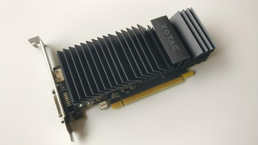 Nvidia GeForce GT1030 - 2GB GDDR5 - Passiv - NEUWERTIG
