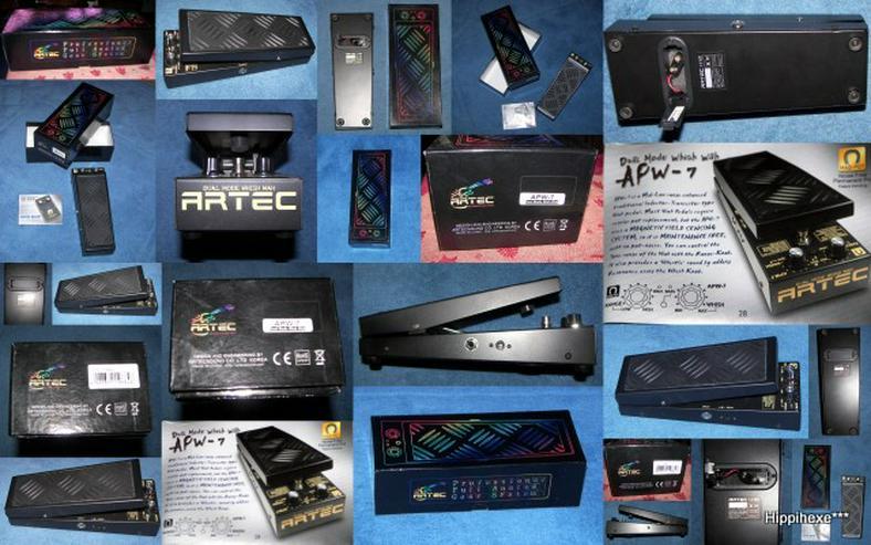 Verkaufe Gitarreneffektgerät Wah-Pedal *wie neu* Artec APW-7