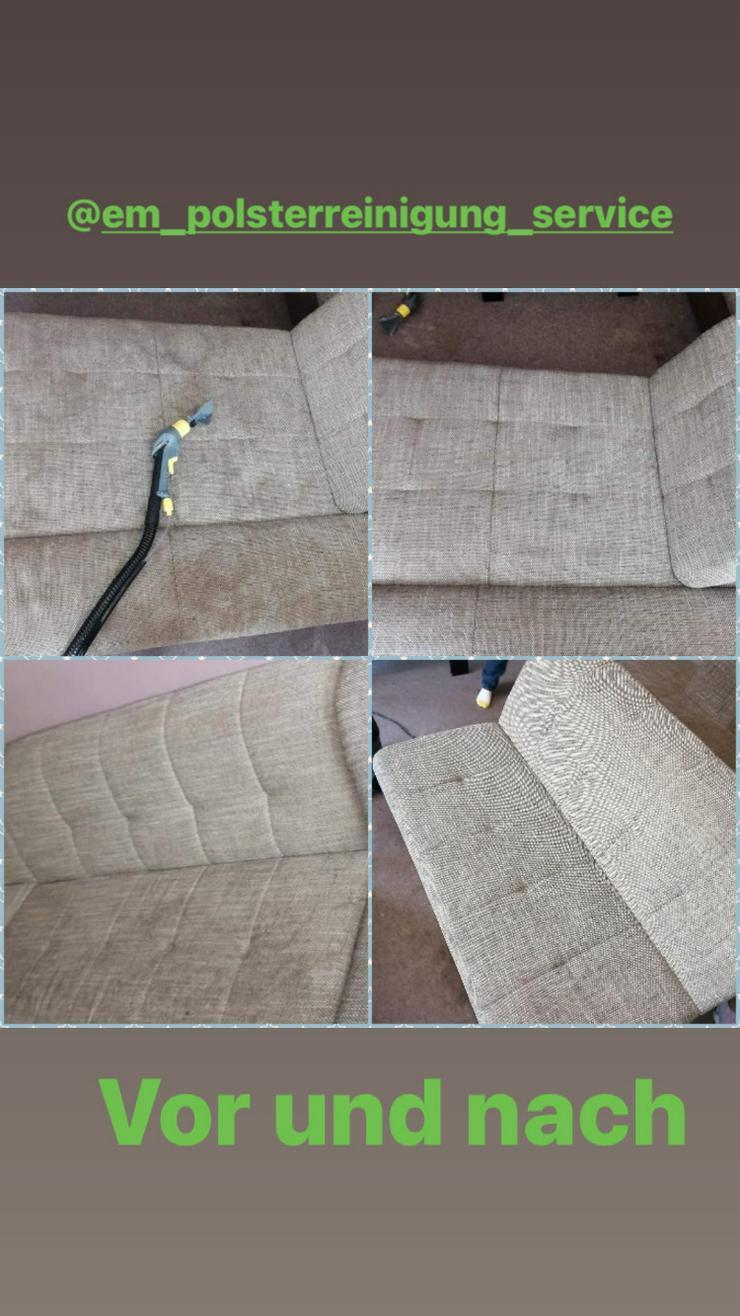 Bild 3: Polsterreinigung ( Sofa , Teppiche, Stuhl u.w)