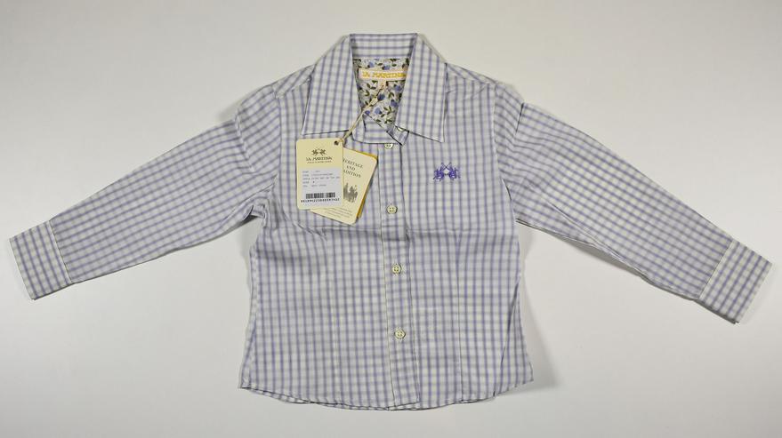 La Martina Kids Hemd Shirt Gr.4 104-110 Kinder Hemden 14-1243