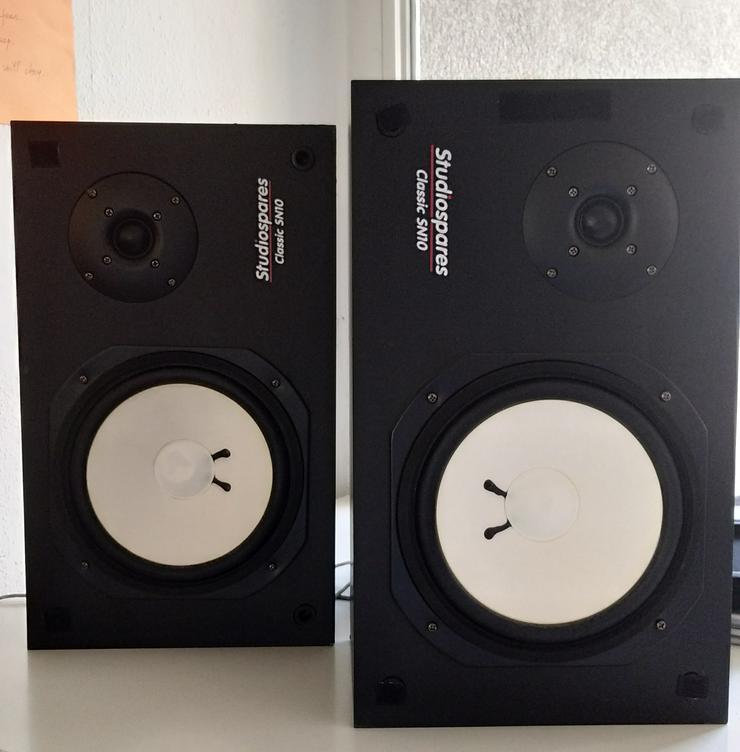 Verstärker, Studiomonitorlautspreher, Audio-Schinittstelle