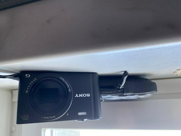 Sony DSC-WX350 Digitalkamera ( 7,5 cm (3 Zoll) LCD-Display, NFC, WiFi) schwarz