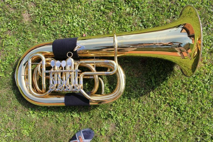 B-Tuba / Bass / Baß Marke B & S