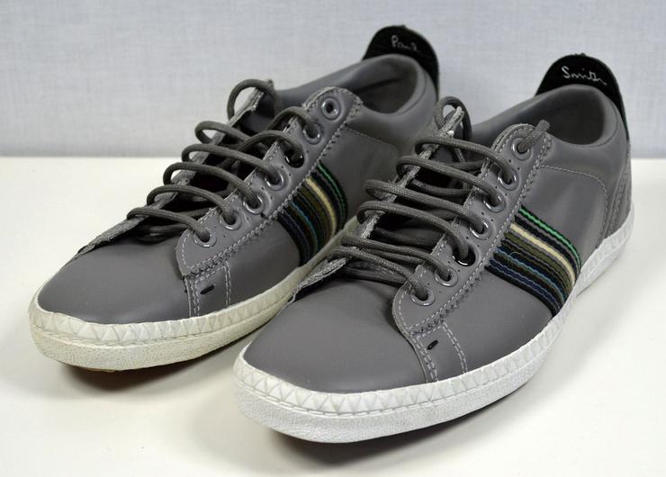 Paul Smith Osmo Sneaker Lederschuhe Gr.39 Marken Schuhe 18121615