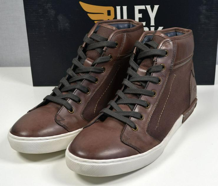 Riley & Clark Leder Sneaker Stiefel Boots Gr.44 Schuhe 31121604