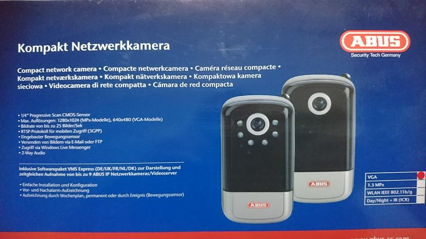 Kompakt Netzwerk-Kamera